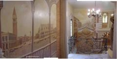 """Reliefs on a wall. """"Venice""""."""