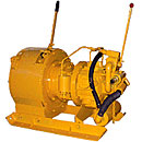 Cargo auxiliary mine winches