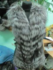Vest from Kitayk's silver fox