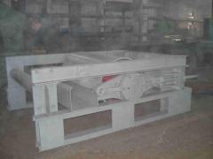 Станция натяжная конвейера ленточного с шириной