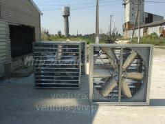 Fans industrial for poultry houses, pig farms,