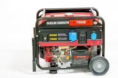 Генератор бензиновый WEIMA WM7000E (7 кВт, 1 фаза,