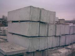 Плиты фундаментные ФЛ