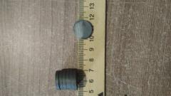 Магнит ферритовый круглый., 18*3 мм