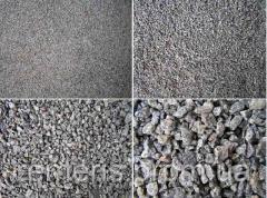 Щебень фракции 40-70 от 35 тонн