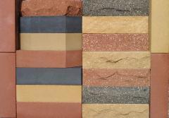 Brick facing hyper pressed on DSTU B.V. 2.