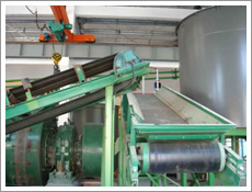 Belt conveyers. Conveyor equipment. Conveyors
