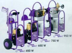 Водоструйный агрегат высокого давления 500 Бар.