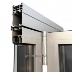 Алюминиевый оконный профиль (дверной)