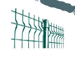 Металлическое секционное ограждения 2D (панель)
