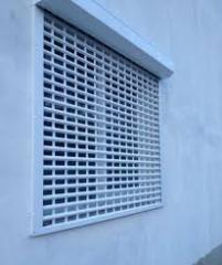 Protective grilles Rolled