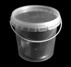 Ведра пластиковые для пищевых продуктов