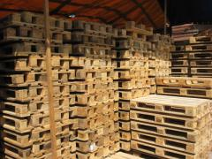 Pallets wooden razmery1200/800, second-hand eur