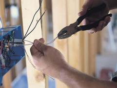 Установка механизма розетки, выключателя (с