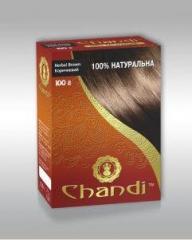 Лечебная аюрведическая краска для волос Chandi.
