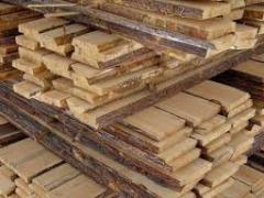 Доски столярные из разных пород древесины