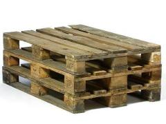 Pallets wooden price, second-hand europallets
