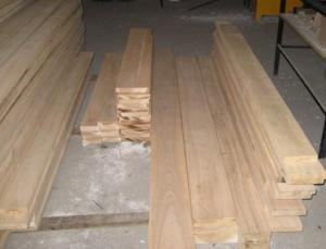 Parquet preparation from an ash-tree