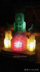 Церковь из каменной соли. Светильник от 5 до 40 кг