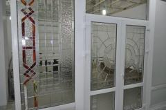 Classical stained-glass window, production of