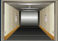Freight elevators for transportation of cars
