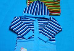 Одежда детская. Кофта детская интерлок полоска
