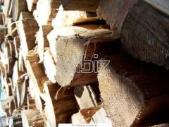 Raw materials wood technical pine, Raw materials