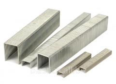 Stainless steel staples for industrial tools