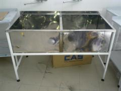 Welded washing tanks 1,2,3kh section production