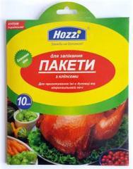 Пакеты для запекания ТМ Hozzi 10 штук