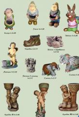 Souvenirs ceramic from the producer. Expor