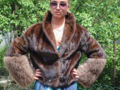 Mink short fur coats from Greece of 2012