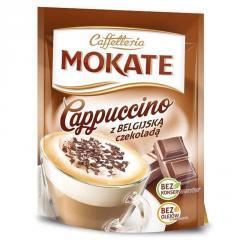 Капучино Mokate Сaffetteria Belgian Chocolate, 110 г