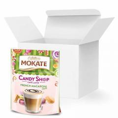 Кофе Латте Mokate Caffetteria Candy Shop, французские макарони, 110г, 10 уп.