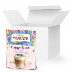 Кофе Латте Mokate Caffetteria Candy Shop, итальянский трюфель, 110г, 10 уп.