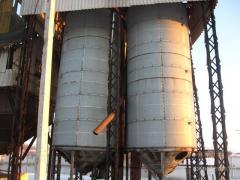 Накопительные бункеры БВ-40, Бункеры для зерна