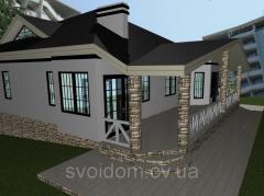Проектирование домов, коттеджей, особняков и