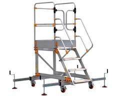 Алюминиевая лестница с платформой VIRASTAR 3+1