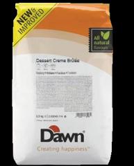 Dessert of Caramel cream / Dessert Creme Brûlée