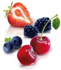 Fillers are fruit, confectionery