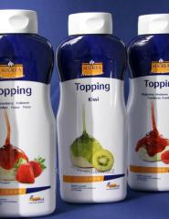Sauces for desserts and ice cream - TOPPINGI
