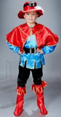 Детский карнавальный костюм Кот в сапогах