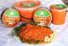 Морковь в корейском стиле (состав: морковь свежая