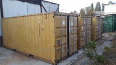 Морской контейнер 20 40 футов в Одессе Киеве.