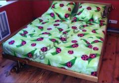 Fabrics polikotton (width: 220 cm). Producer