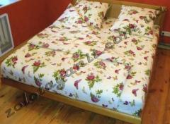 La ropa de cama (polikotton)