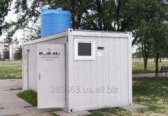 Блок-контейнер туалет. Мобильный санитарный