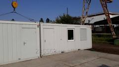 Санитарный блок контейнер Containex с кухней и