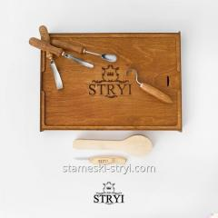 Набор для резьбы ложек, тарелок и других изделий, 6 штук, арт.505001