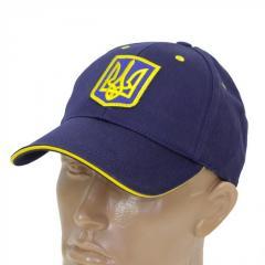 Бейсболка с Гербом Украины синяя